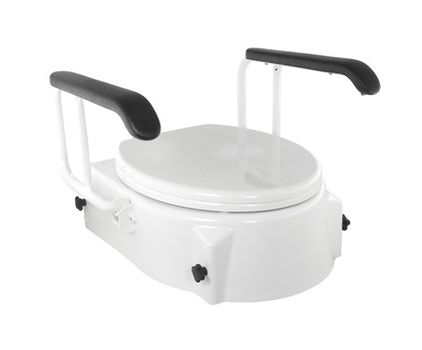 Raised Toilet Seat With Arms Better Life Centre